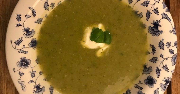 originele Franse courgette soep