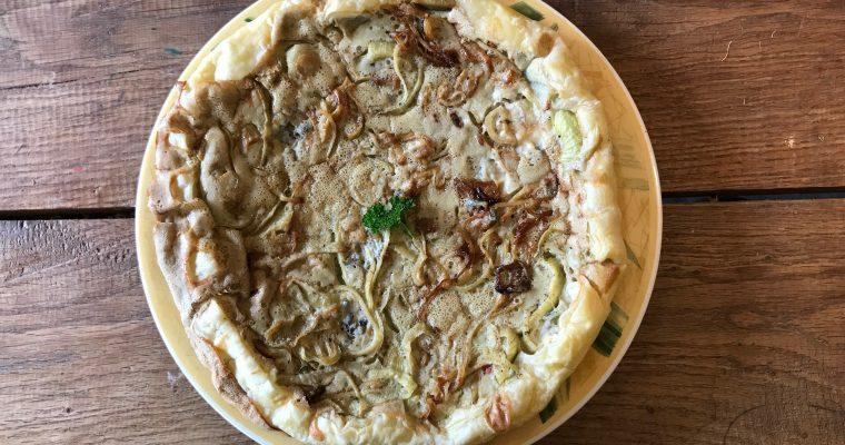 Roquefort taart het bewijs dat lekker eten makkelijk te maken is