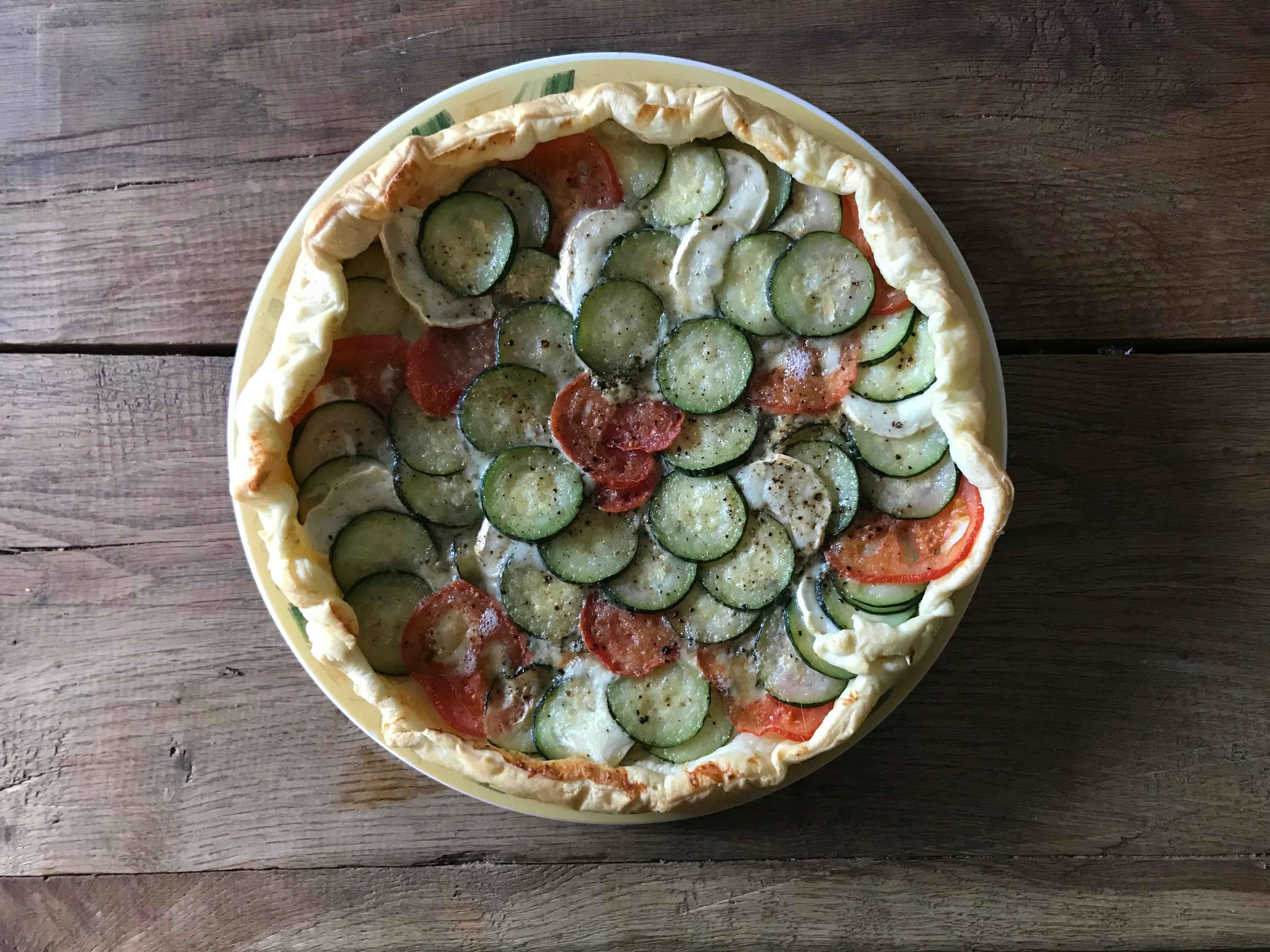 Pizza quiche speciaal voor Sarah