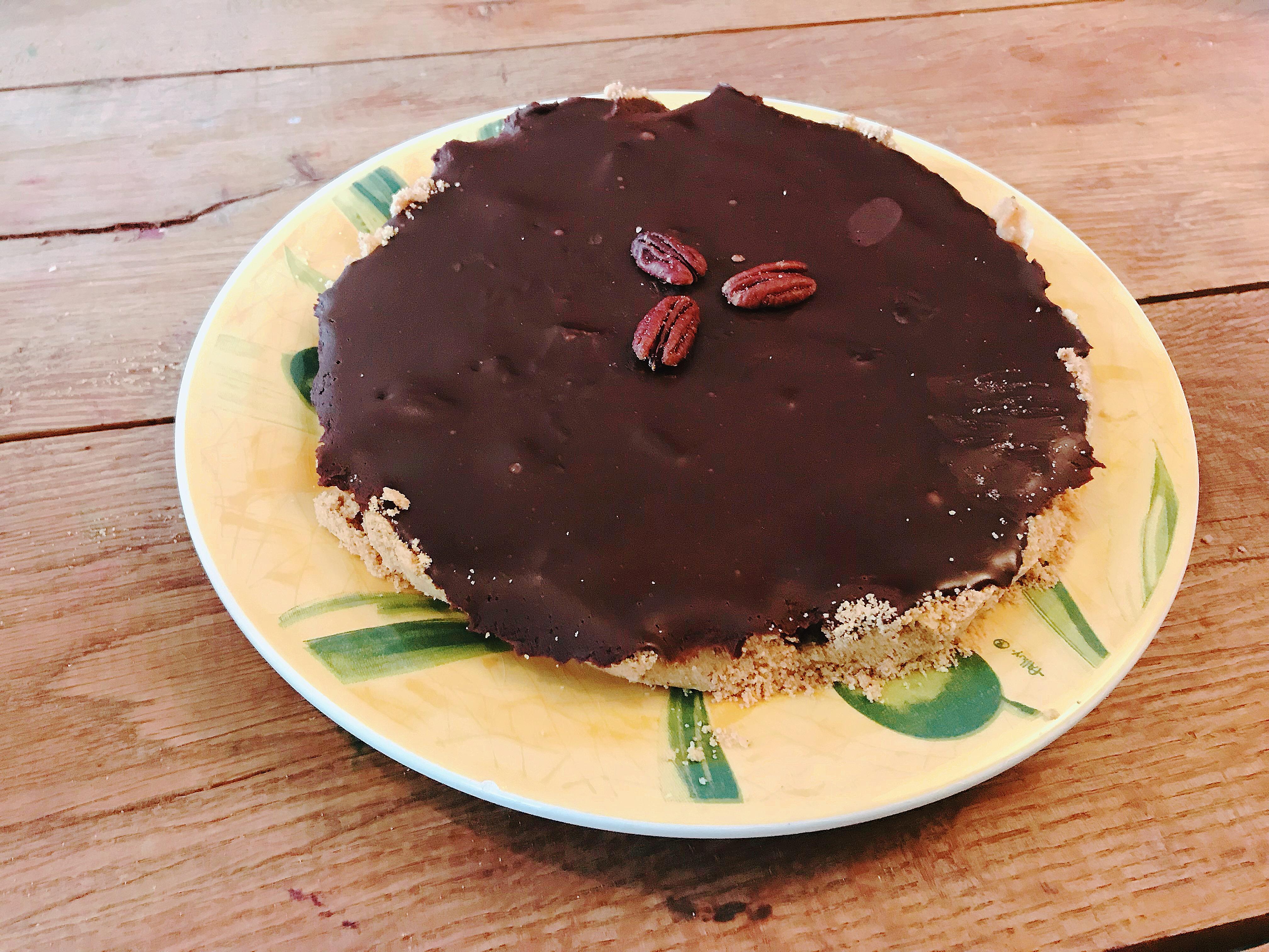 Chocoladetaart met ganache