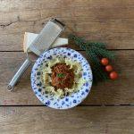 Originele Italiaanse ragù met tomaten saus