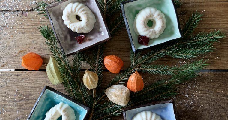 Heerlijke panna cotta met mandarijn en kaneel