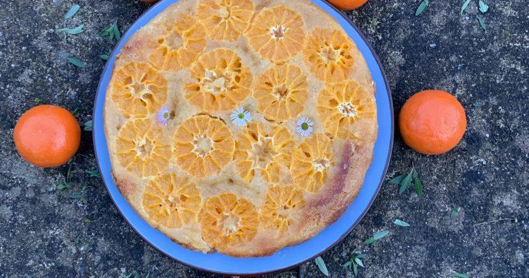 Winterse tarte tatin met mandarijn