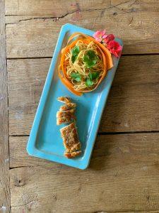 Crunchy kip in panko en 5 spices
