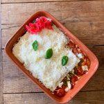 Heerlijke bijna vegetarische lasagne met verborgen groenten