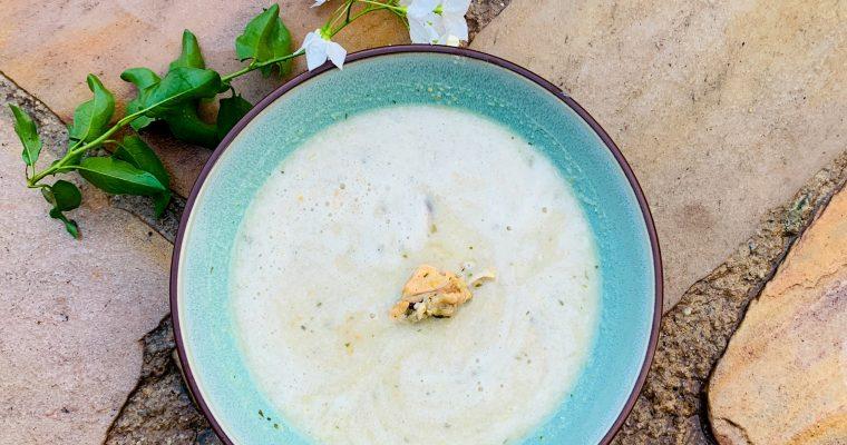 Overheerlijke mosselsoep met roquefort