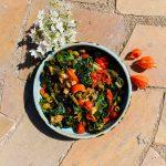 Ottolenghi regenboogsnijbiet met tomaat